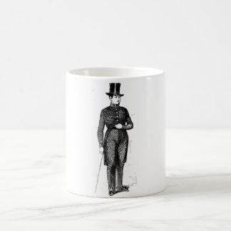 Dapper Young Gentleman Basic White Mug