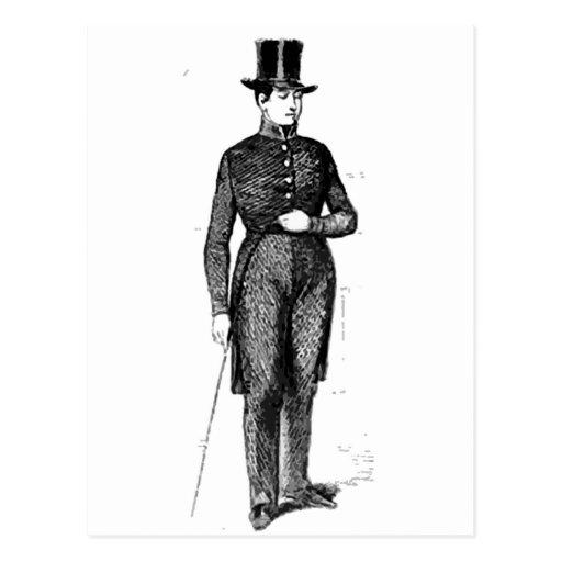 Dapper Young Gentleman Postcard