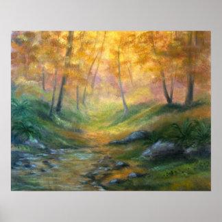 Dapple Creek Landscape Poster
