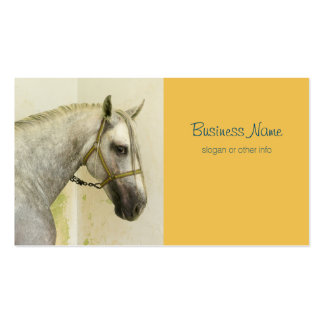 Dapple Gray Andalusian Horse Business Card