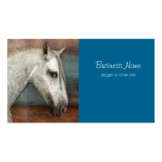 Dapple Gray Andalusian Horse Portrait Pack Of Standard Business Cards