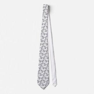 Dappled Grey Draft Horse Tie
