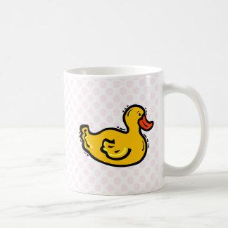 Dappy Duck Basic White Mug