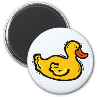 Dappy Duck Refrigerator Magnet