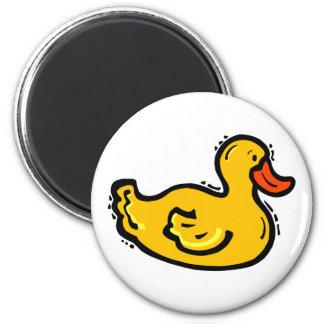 Dappy Duck 6 Cm Round Magnet