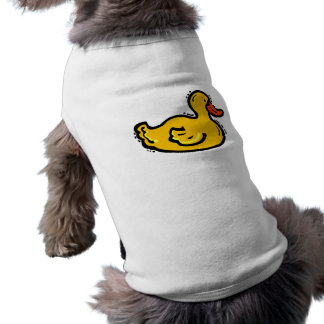 Dappy Duck Sleeveless Dog Shirt