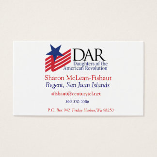 DAR Card for Mom