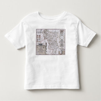 Darbieshire, engraved by Jodocus Hondius Toddler T-Shirt