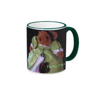 Darby O'Bear Ringer Mug