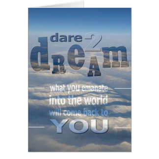 Dare 2 Dream Note Card
