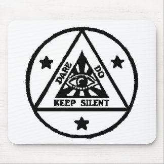 Dare Do Keep Silent The Sorceror s Code Mousepads
