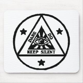 Dare Do Keep Silent The Sorceror s Code Mousepads