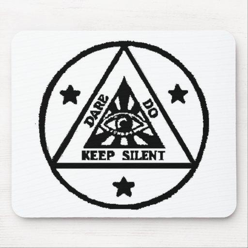 Dare. Do. Keep Silent! The Sorceror's Code! Mousepads