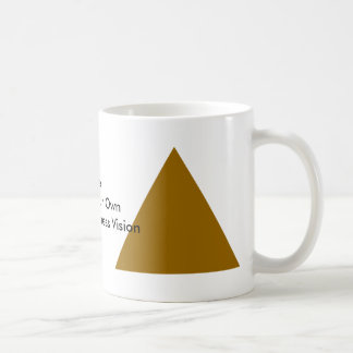 Dare Dream Your Own Human Goodness Vision Gifts Basic White Mug
