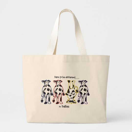 Dare-in-Dalls Large Tote Bag