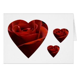 Dare the Rose Card