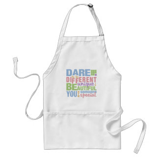 Dare To Be Different apron - choose style