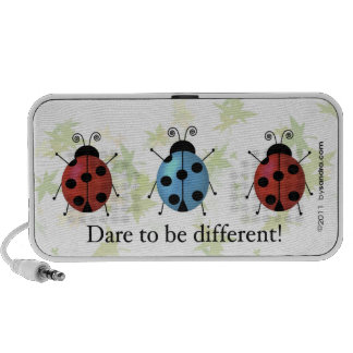 Dare to be Different Travel Speakers