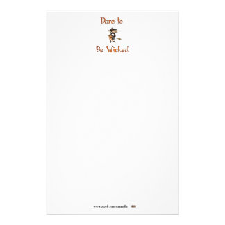 Dare to be Wicked Personalized Stationery