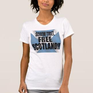 Dare to Care, FREE SCOTLAND!! T-Shirt