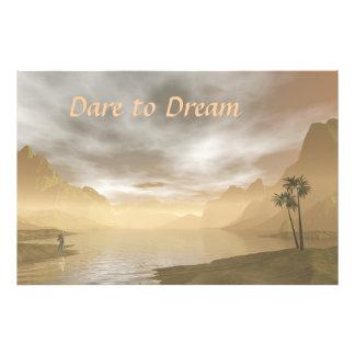 Dare to Dream Art Photo