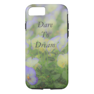 Dare To Dream Flower iPhone 7 Case