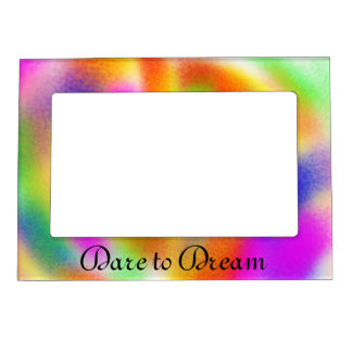 Dare to Dream Photo Frame Magnets