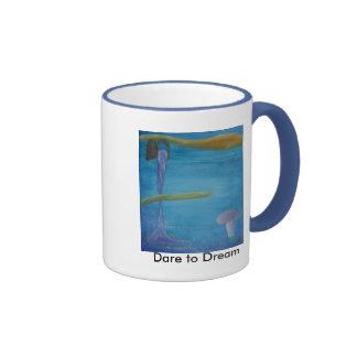 Dare to Dream Ringer Mug