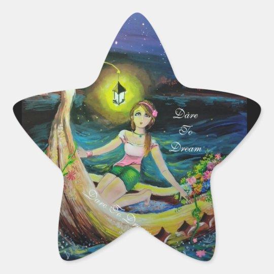 'Dare To Dream' sticker