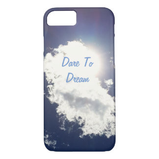 Dare To Dream  Summer Sky iPhone 8/7 Case