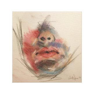 Daredevil in Soft Pastels by Lucinda Segneri Canvas Print