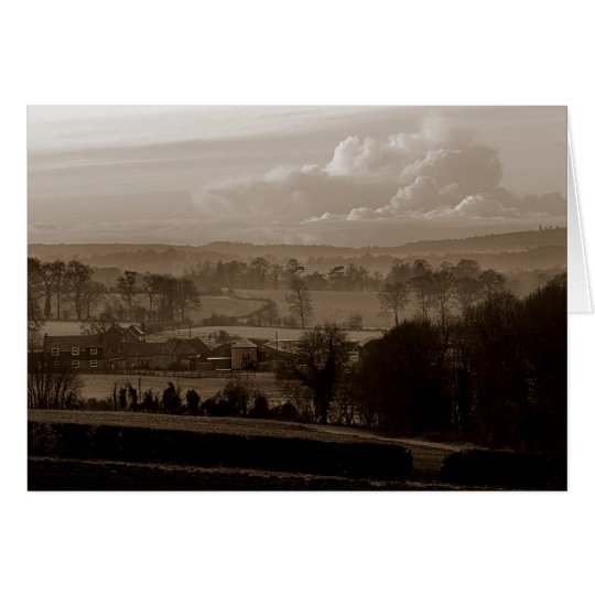 Darenth Valley, Shoreham, Sevenoaks in Kent Card