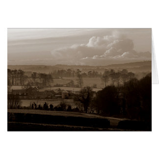 Darenth Valley, Shoreham, Sevenoaks in Kent Greeting Card
