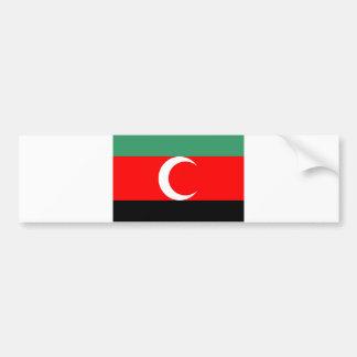 darfur region ethnic flag sudan country bumper sticker