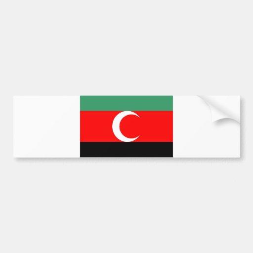 darfur region ethnic flag sudan country bumper stickers