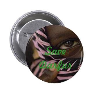 darfur, Save Darfur 6 Cm Round Badge