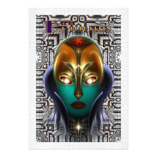 Daria Cyborg Queen Tech Photo Print
