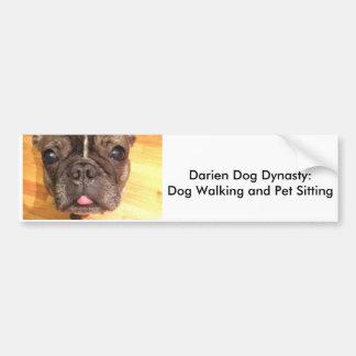 Darien Dog Dynasty Bumper Sticker