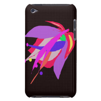 Dark Abstract Flower iPod Case-Mate Cases