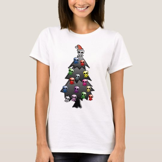 Dark and Gothic Holiday Greeting T-Shirt