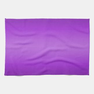 Dark and Light Purple Gradient - Violet Template Tea Towel