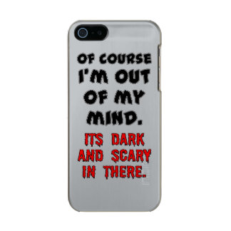 DARK AND SCARY INCIPIO FEATHER® SHINE iPhone 5 CASE