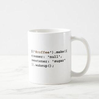 Dark and Sweet Javascript Coffee Mug