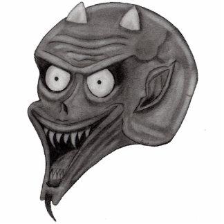 Dark Angel Acrylic Pin Photo Sculpture Badge