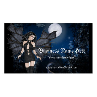 Dark Angel & Dark Night Vampire/Fantasy Biz Cards Business Card Template