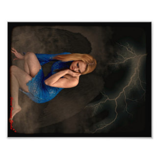 Dark Angel Photo Print