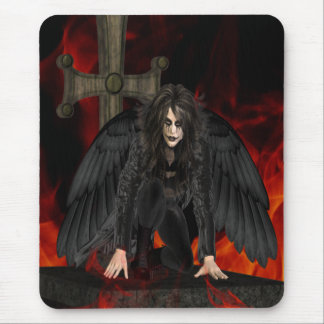 Dark Angel .. the vampire Mouse Pad