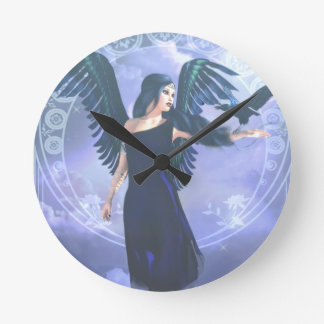 Dark Angel Wall Clocks
