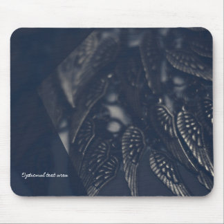 Dark Angel Wings Gothic Glam Personalized Mouse Mat