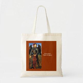 Dark Archangel Michael Budget Tote Bag